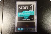 Korg Korg M3R Memory Card PPC 12 World Omnibus 1989