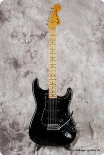 Fender Stratocaster 1976 Black Refinish