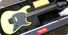 Ernie Ball Music Man Cutlass BFR HSS Locking Trem 2021 Neon Yellow