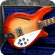 Rickenbacker -  4005 1967 Fireglo