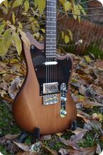 Bona Guitars Offset Telemaster Aldermaple 255 2020 Coffe Burst Tung Oil