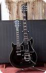 Gibson EMS1235 EX STEVE HOWE YES ASIA 1962 Black