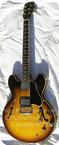 Gibson ES 335 1961 Sunburst Korina