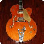 Gretsch Guitars-6120-1961-Western Orange