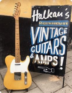Fender Telecaster   Refin 1955 Blonde