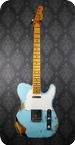 Fender Custom Shop 52 Telecaster Heavy Relic Daphne Over 2TSB