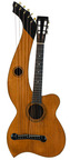 Larson Brothers Dyer Harp Guitar Style 3 Ca. 1908