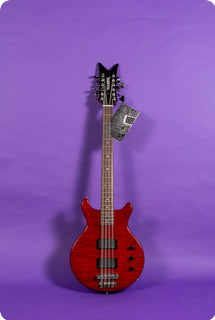 Hamer 12 String Bass 1994 Red