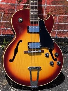 Gibson Es 175d 1970 Cherry Sunburst Finish