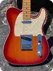 Fender Telecaster Deluxe 2013 Cherry Sunburst Finish