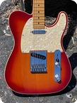 Fender Telecaster Deluxe 2013 Cherry Sunburst Finish