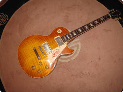 Gibson Les Paul Chambered R9 2007 Faded Burst Nce Flame!