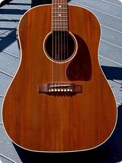 Gibson J 45 Genuine Mahogany Ltd. Edition 2016 Natural Mahogany