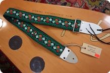 Montreux Montreux RetroVibe Guitar Strap 1969 Green