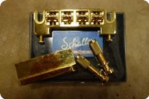 Schaller Schaller 462 A Bass Bridge 2 Studs Gold N.O.S