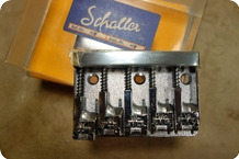 Schaller Schaller 498 Bass Bridge 5 String Chrome