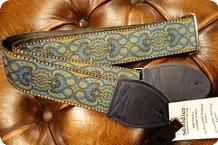 Souldier Souldier Arabesque Turquoise Guitar Strap