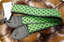 Souldier Souldier Celtic Knot Green Guitar Strap