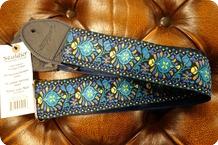 Souldier Souldier Hendrix Blue Guitar Strap