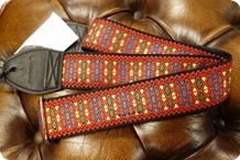 Souldier Souldier Hendrix Monterey Red Guitar Strap
