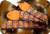 Souldier -  Souldier Owl Orange Guitar Strap