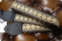 Souldier Souldier Persian Black Guitar Strap