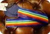 Souldier Souldier Rainbow Stripe Guitar Strap