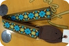 Souldier -  Souldier Tulip Turquoise Gold Guitarstrap