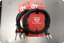 Stagg Stagg NTC6PR Premium Sudio Cable 20ft 6m Set Of 2