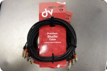 Stagg Stagg NTC6R Premium Studio Cable Cinch 20ft 6m Set Of 2