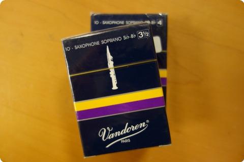 Vandoren Vandoren Sr204/sr2035 Bb Saxophone Soprano Reeds 2 Pack Various
