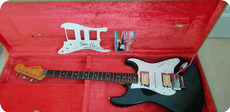 Fender Custom Modified Stratocaster Ex DAVE MURRAY IRON MAIDEN 1962 Black