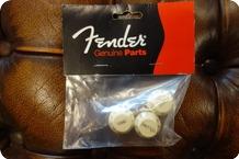 Fender Fender Stratocaster Knobs Aged White Volume Tone Tone 3