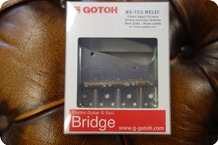 Gotoh Gotoh BS TC1 AC Gotoh Master Relic Collection Bridge For E guitar Teaser