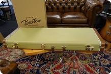 Boston Boston California Series Electric Guitar Case Vintage Tweed
