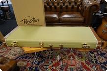 Boston Boston California Series Electric Guitar Case Vintage Tweed