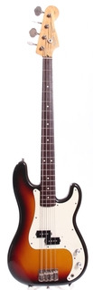Squier Precision Bass Silver Series 1993 Sunburst