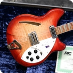 Rickenbacker 360CW Limited Edition Carl Wilson 2000 Fireglo