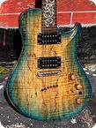Warrior Guitars Isabella Special Order 2010 Turquoise Sunburst