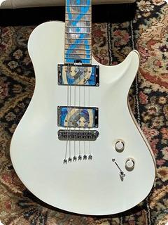 Warrior Guitars J Dran Isabella Namm Show 2010 Pearl White