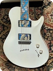 Warrior Guitars J Dran Isabella NAMM Show 2010 Pearl White