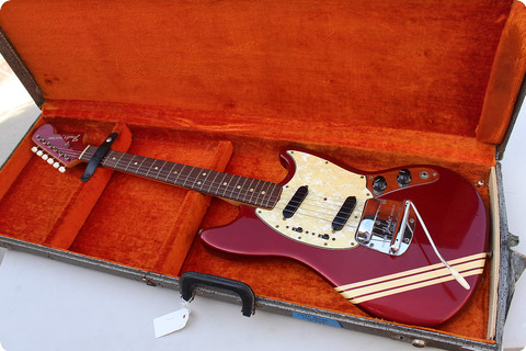 Fender Mustang 1973 Candy Apple Red