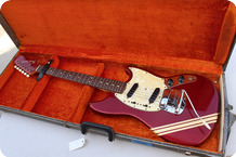 Fender-Mustang-1973-Candy Apple Red