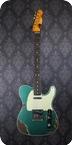 Fender Custom Shop 63 Telecaster Custom Heavy Relic Sherwood Metallic