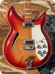 Rickenbacker 381 Prototype 1969 Fireglo Finish