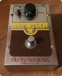 Electro Harmonix Little Big Muff Pi 1977 Metal Box