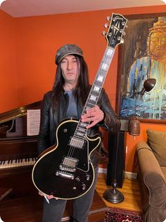 Gibson 68 Reissue Les Paul Custom Ex Guns 'n' Roses 2000 Black