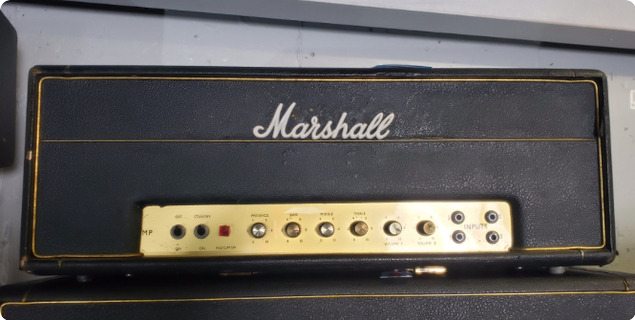 Marshall Jmp50 Plexi Ex Guns 'n' Roses 1968 Black
