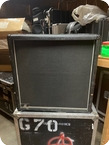 Marshall 4x12 Cabinet Ex GUNS N ROSES 1989 Black