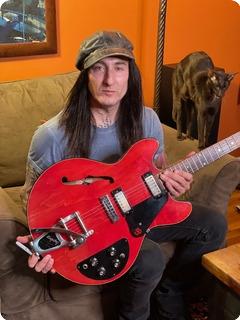 Gibson Es325 Semi Acoustic Ex Guns 'n' Roses 1970 Cherry Red